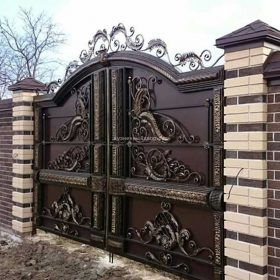 Ворота кованые ВГК-18