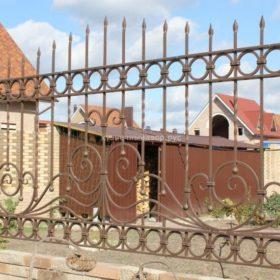 Забор кованый ЗГК-16