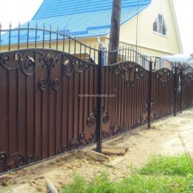 Забор кованый ЗГК-14