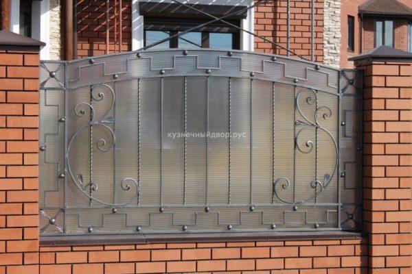 Забор кованый ЗГК-15