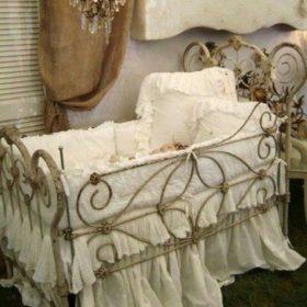 Кровать кованая КГК-10