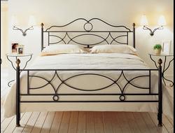 Кровать кованая КГК-6