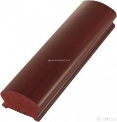 Поручень ПВХ фигурный цвет «Красное дерево»-5