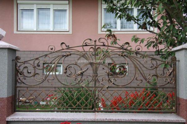 Забор кованый ЗГК-4