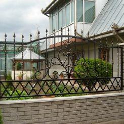 Забор кованый ЗГК-1