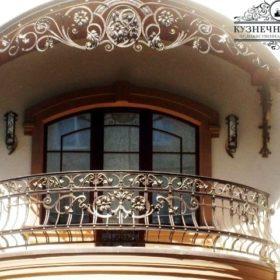 Балконы кованые БГК-10