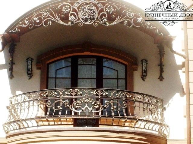 Кованые балконы Анапа