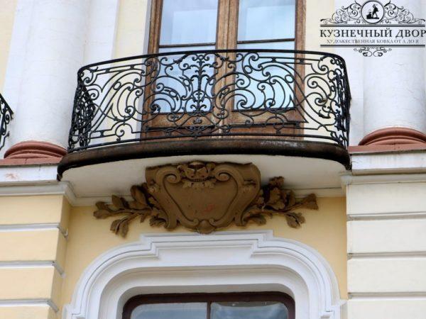 Балконы кованые БГК-11