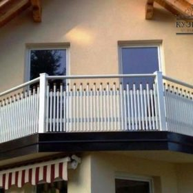 Балконы кованые БГК-12