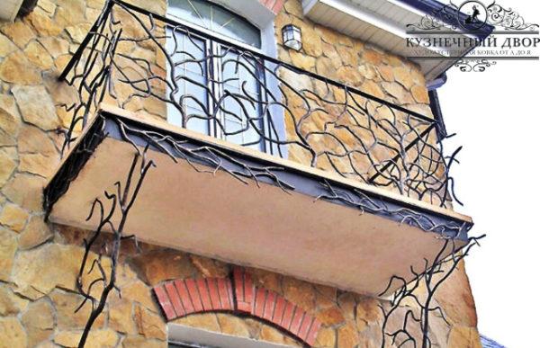 Балконы кованые БГК-14