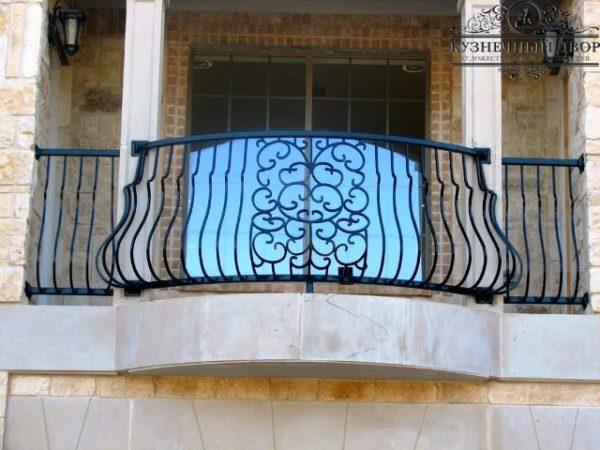 Балконы кованые БГК-16