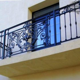 Балконы кованые БГК-17