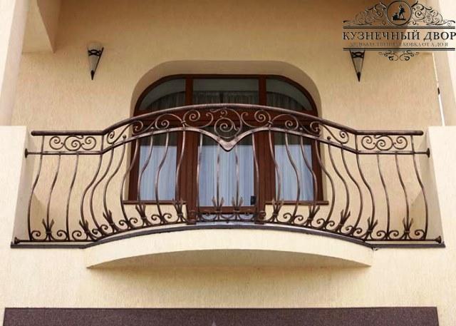 Кованые балконы Сочи