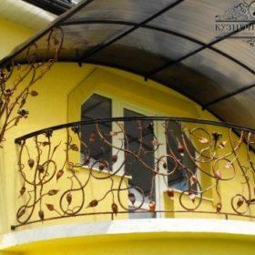 Балконы кованые БГК-4