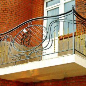 Балконы кованые БГК-6