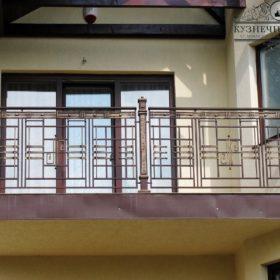Балконы кованые БГК-7