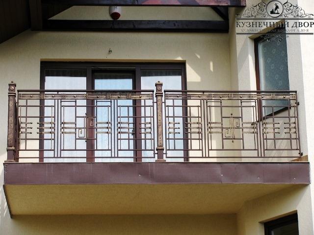 Кованый балкон Туапсе