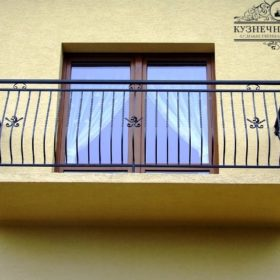 Балконы кованые БГК-9