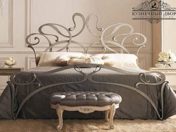 Кровать кованая КРГК-1