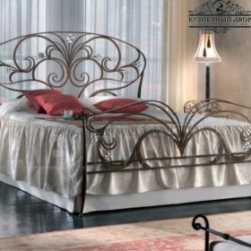 Кровать кованая КГК-11