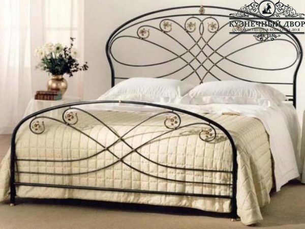 Кровать кованая КГК-7