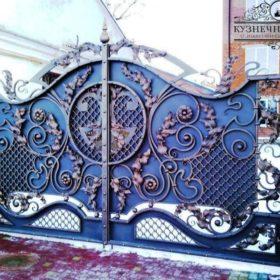 Ворота кованые ВГК-11