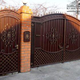 Ворота кованые ВГК-12