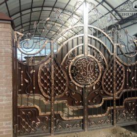 Ворота кованые ВГК-13