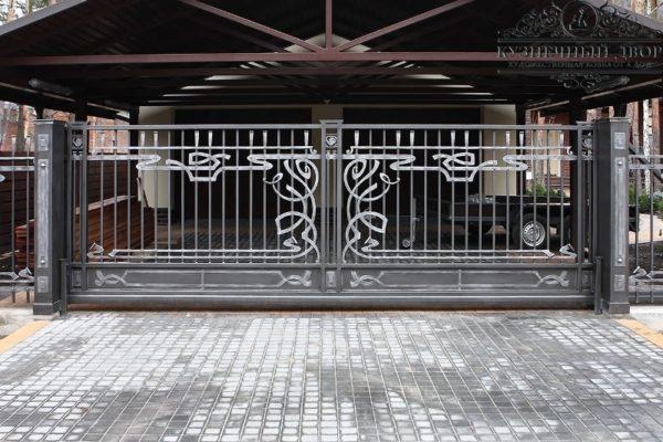 Ворота кованые ВГК-14