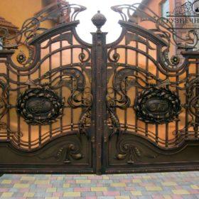 Ворота кованые ВГК-16
