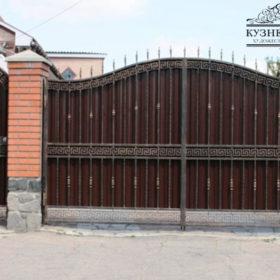 Ворота кованые ВГК-17