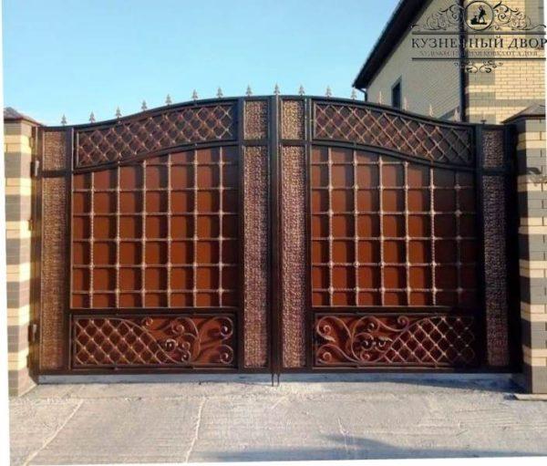 Ворота кованые ВГК-173