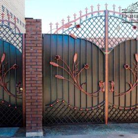 Ворота кованые ВГК-2