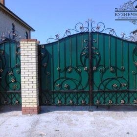 Ворота кованые ВГК-27