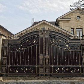 Кованые ворота ВГК-31