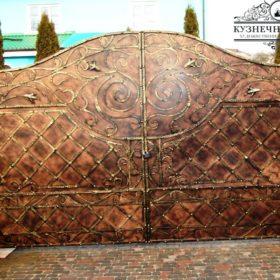 Ворота кованые ВГК-7