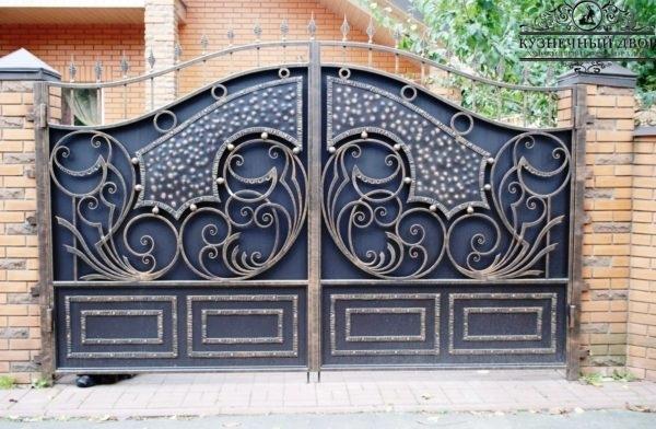 Ворота кованые ВГК-8