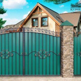 Ворота кованые ВХК-3