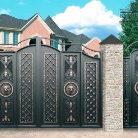 Ворота кованые ВХК-4