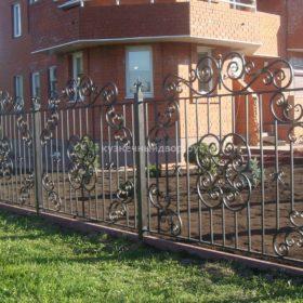 Забор кованый ЗГК-17
