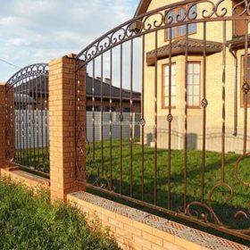 Забор кованый ЗГК-18
