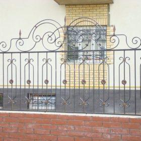 Забор кованый ЗГК-19