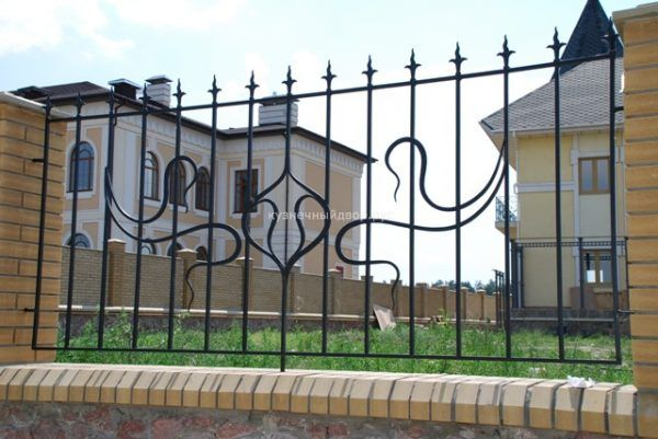 Забор кованый ЗГК-20