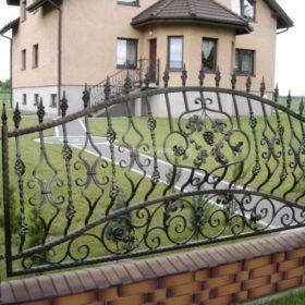 Забор кованый ЗГК-24