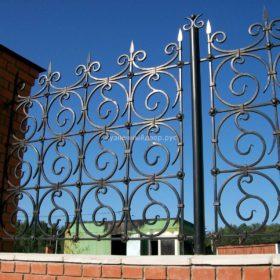 Забор кованый ЗГК-25