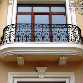 Балкон кованый БГК-18