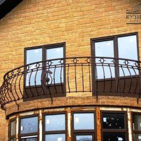 Балкон кованый БГК-19