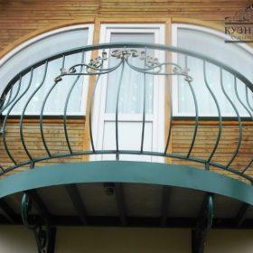 Балкон кованый БГК-20