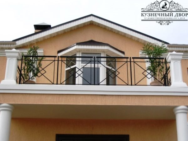Балкон кованый БГК-21