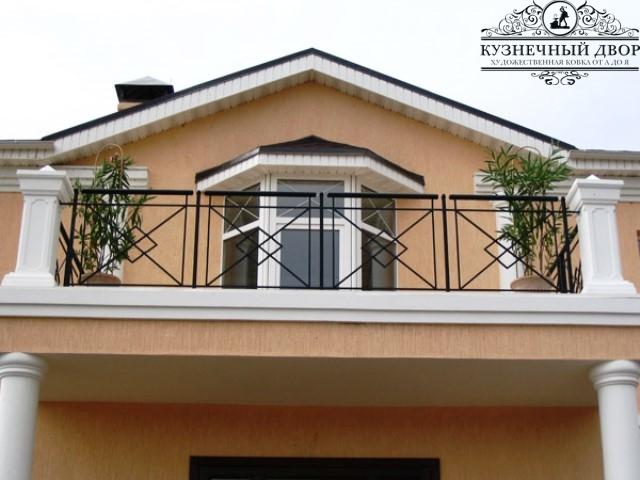 Кованые балконы Горячий ключ